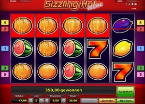 Sizzling Hot Automat online